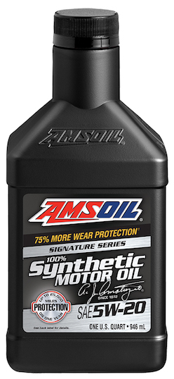 SAE 5W-20 Signature Series 100% Synthetic Motor Oil (ALM)